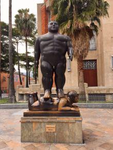 Escultuta de Botero en Medellín