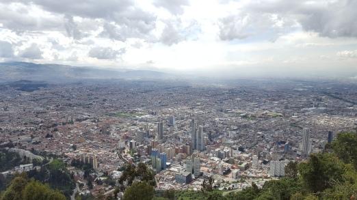 Vitas Bogotá desde el cerro de Monserrate