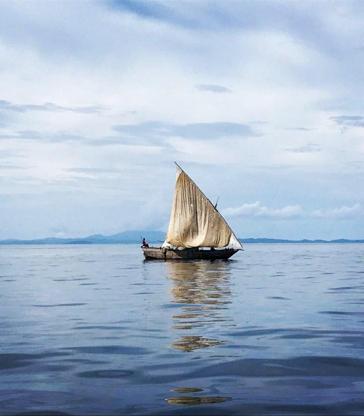 Barco de pesca en Nosy_Be