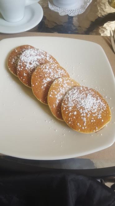Pancakes en Coffe House (foto de Chusa Cuendias)
