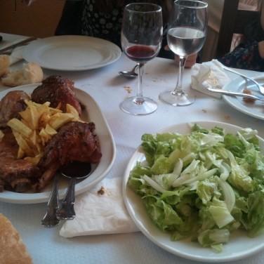 Última carne de Chusa Cuendias en abril de 2014
