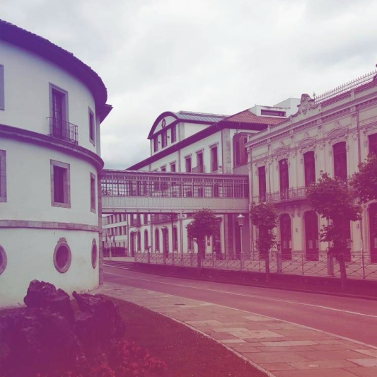 Balneario de Las Caldas en Oviedo. Chusa Cuendias, 2019