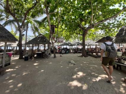 Picnic. White Beach, Panglao. República de Filipinas. Noviembre 2019. Chusa Cuendias