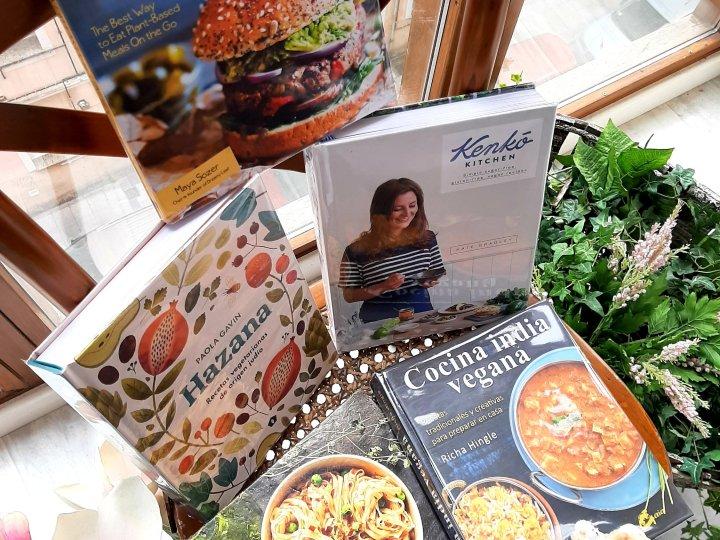 5 libros de cocina para celebrar el Día del Libro 2020. Chusa Cuendias.